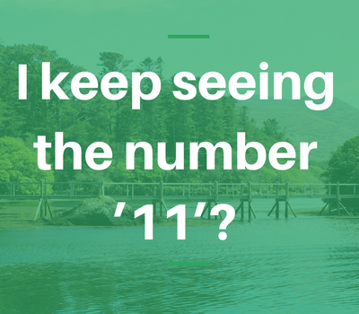 I keep seeing the number '11'? - James Sweetman