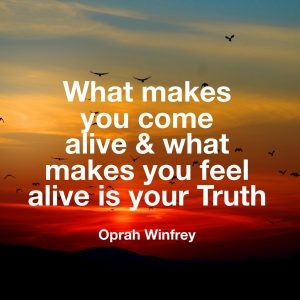 Oprah truth quote