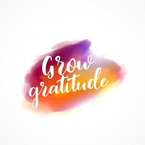 Boost positivity with gratitude