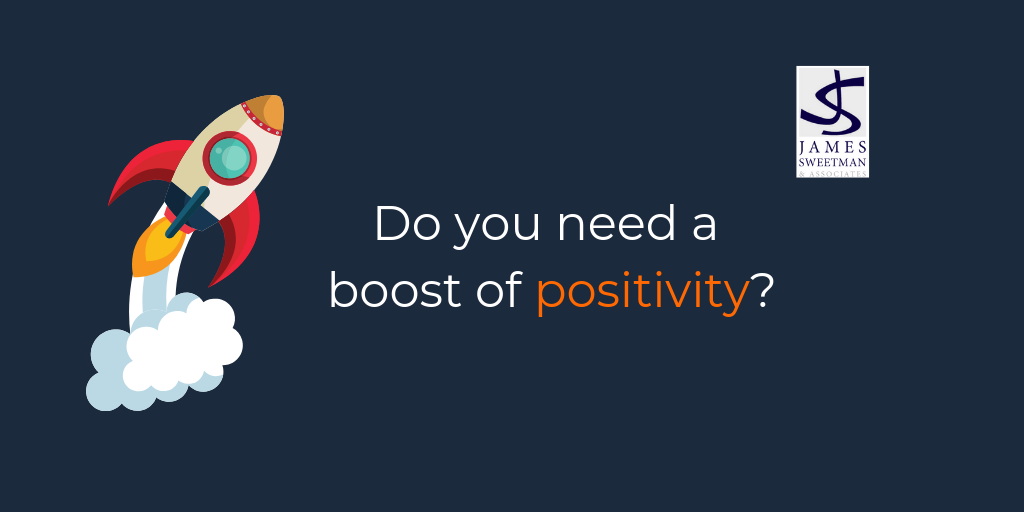 Do you need a boost of positivity?