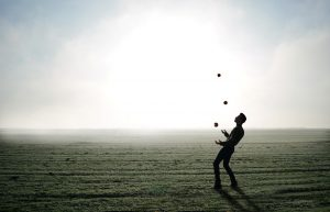 Juggling for work life balance