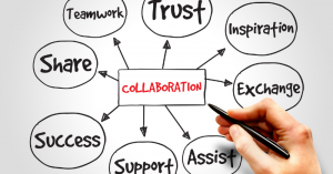 What makes a good manager. collaboration
