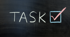 Make working from home work for you. Task focussed.