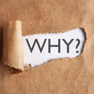Ask why. exercising your creativity