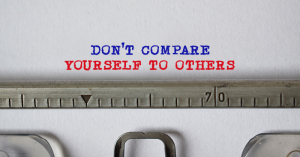 overcoming Imposter Syndrome, don't compare yourself to others
