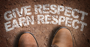 Give respect to others